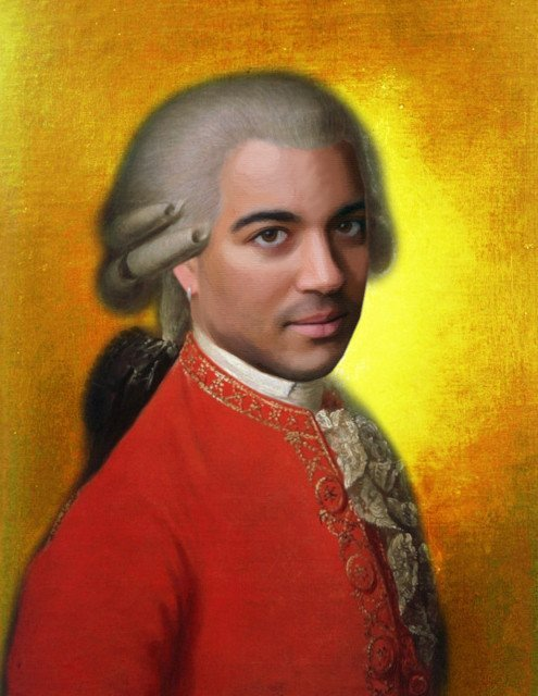 Mozart in Music & Letters Poster Image