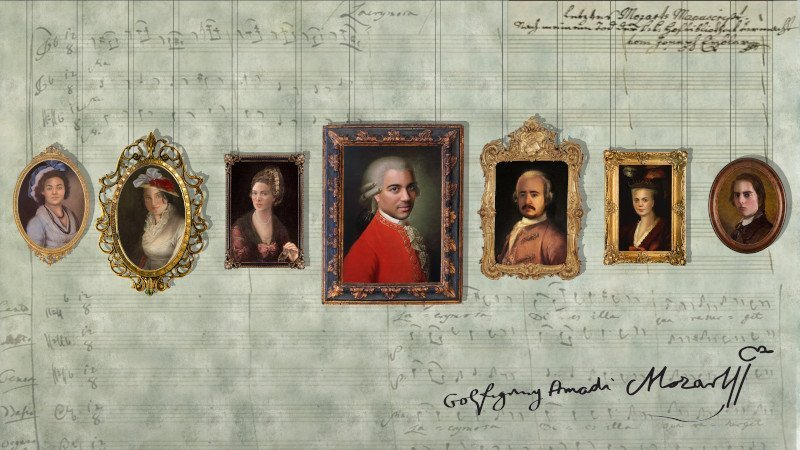 Mozart in Music & Letters visual