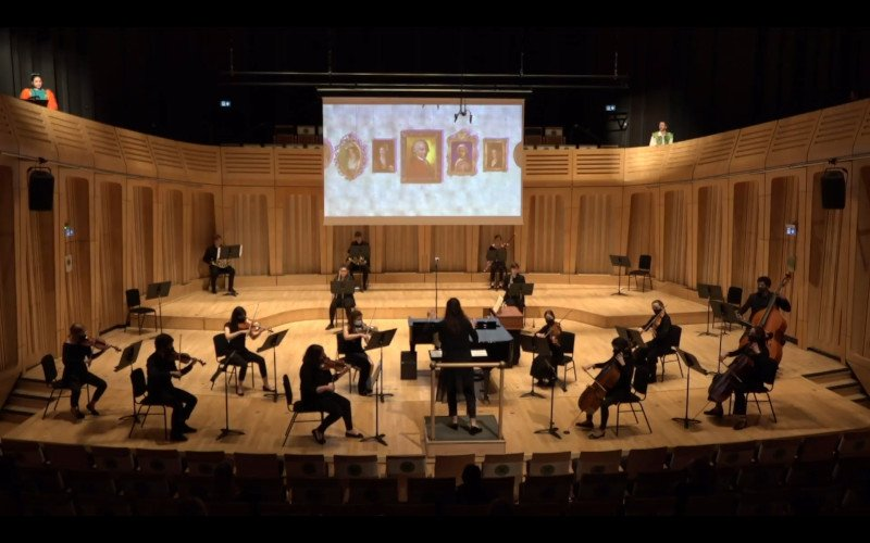 Mozart in Music & Letters orchestra